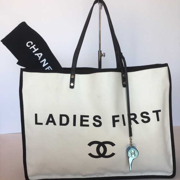 e574045aef89 CHANEL Bags | Authentic Ladies First Tote | Poshmark